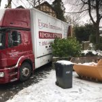 Removal in Snowy Harrogate!